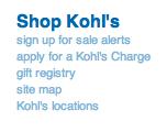 kohls email signup