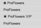 proflowers from name
