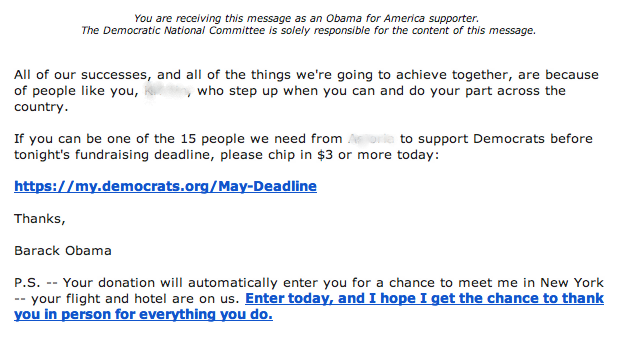 obama email